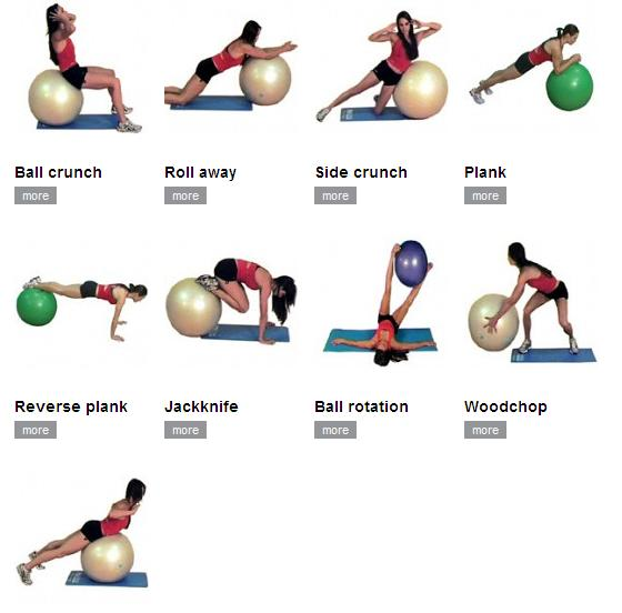 Types Of Swiss Ball Ab Exercises 62